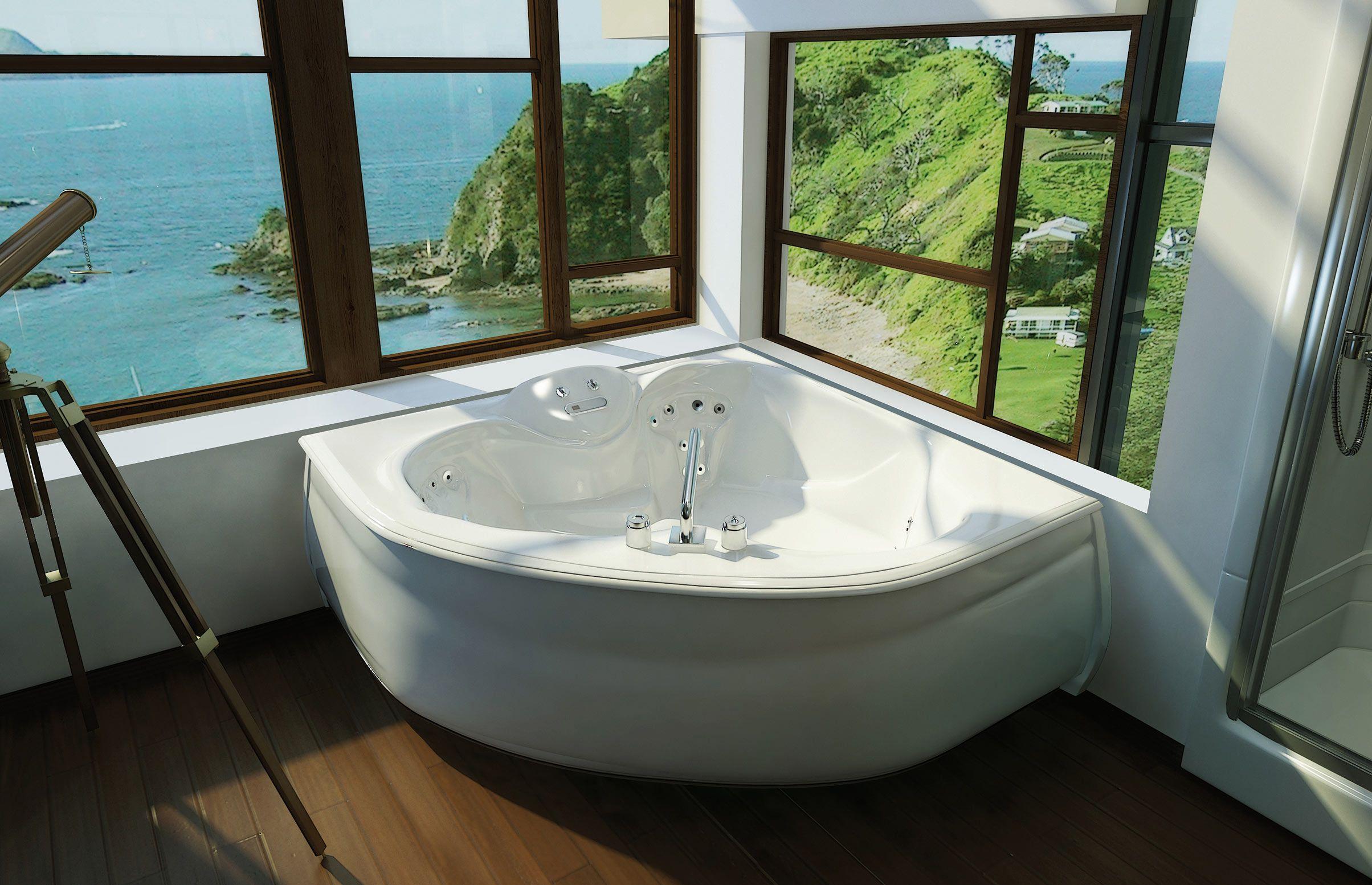 KASHMIR Corner or Drop-in bathtub - MAAX Collection | Kathleen ...