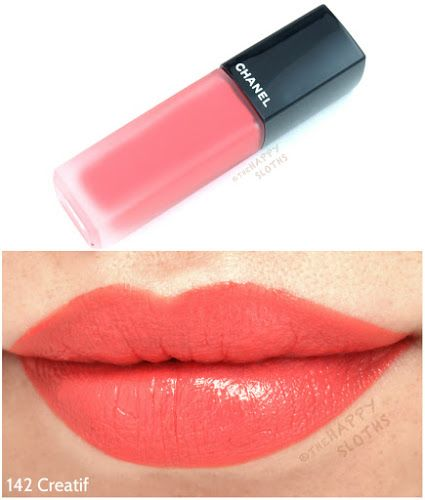 """Photo of Chanel Rouge Allure Ink Matte Liquid Lip Color in """"142 Creatif"""" & """"150 Luxuriant"""": Review and Swatches"""