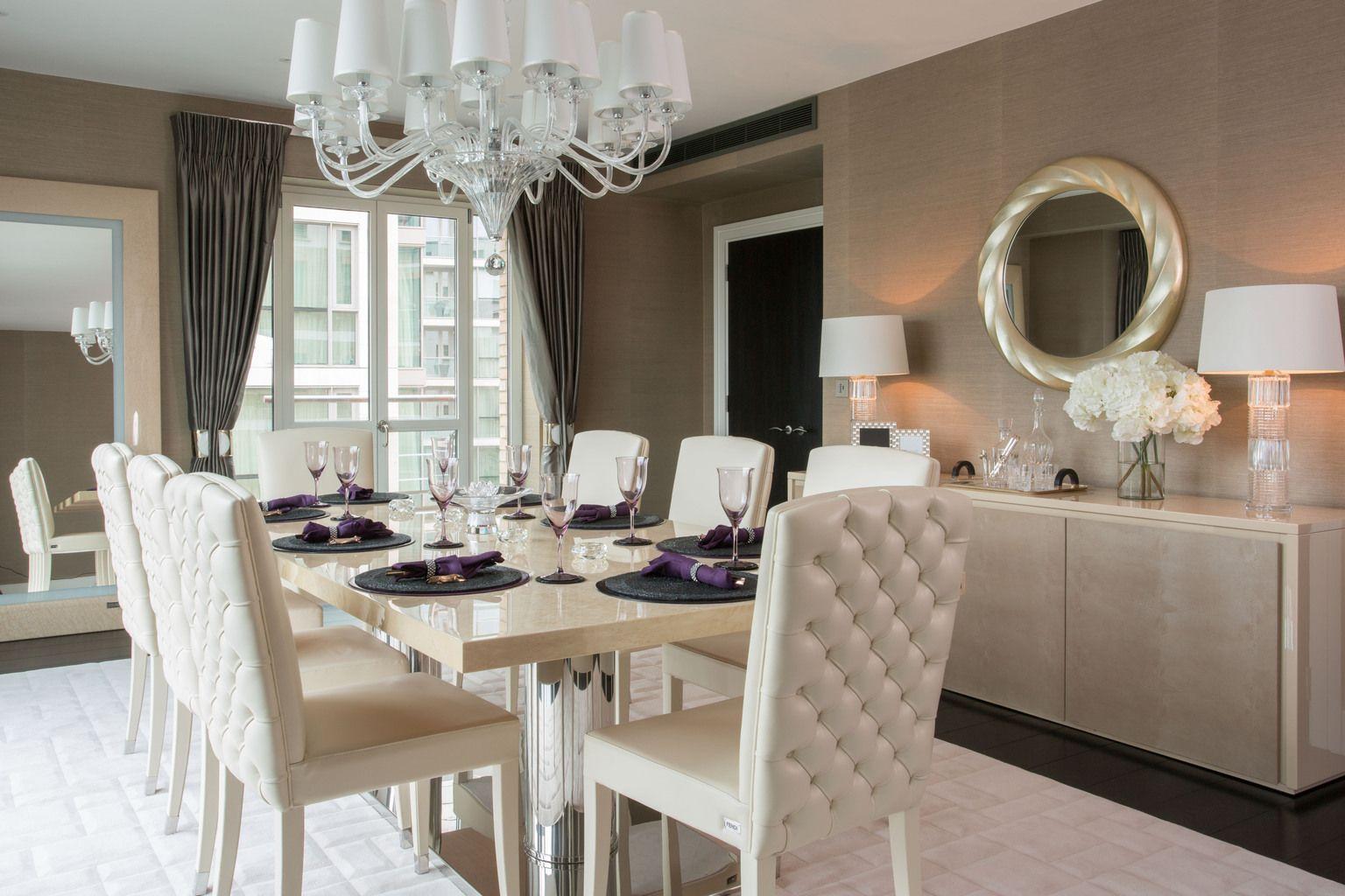 knightsbridge luxury apartment - harrods - the studio interior