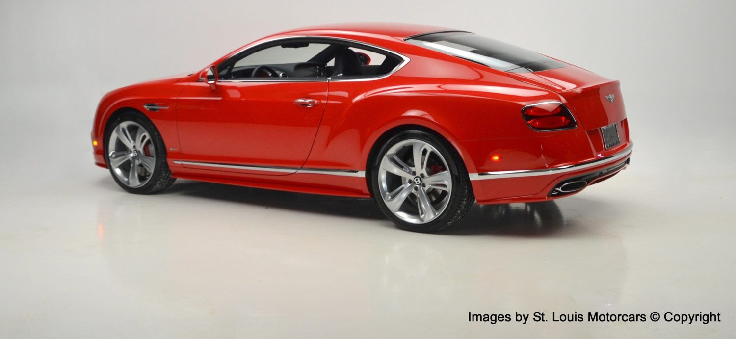 2016 Bentley Continental Gt Speed Coupe St James Red Over Imperial