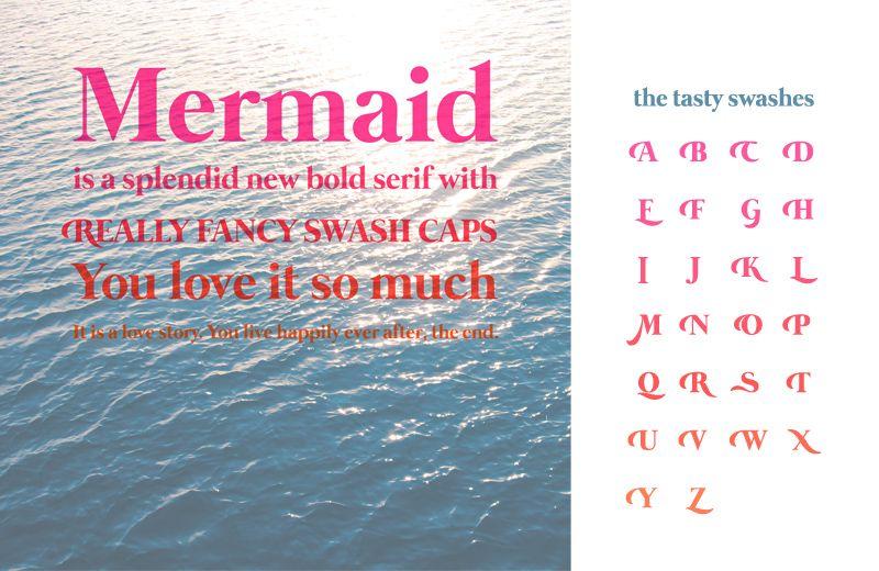 Mermaid Font | dafont com | TyPoGRapHy    Says it Like it Is