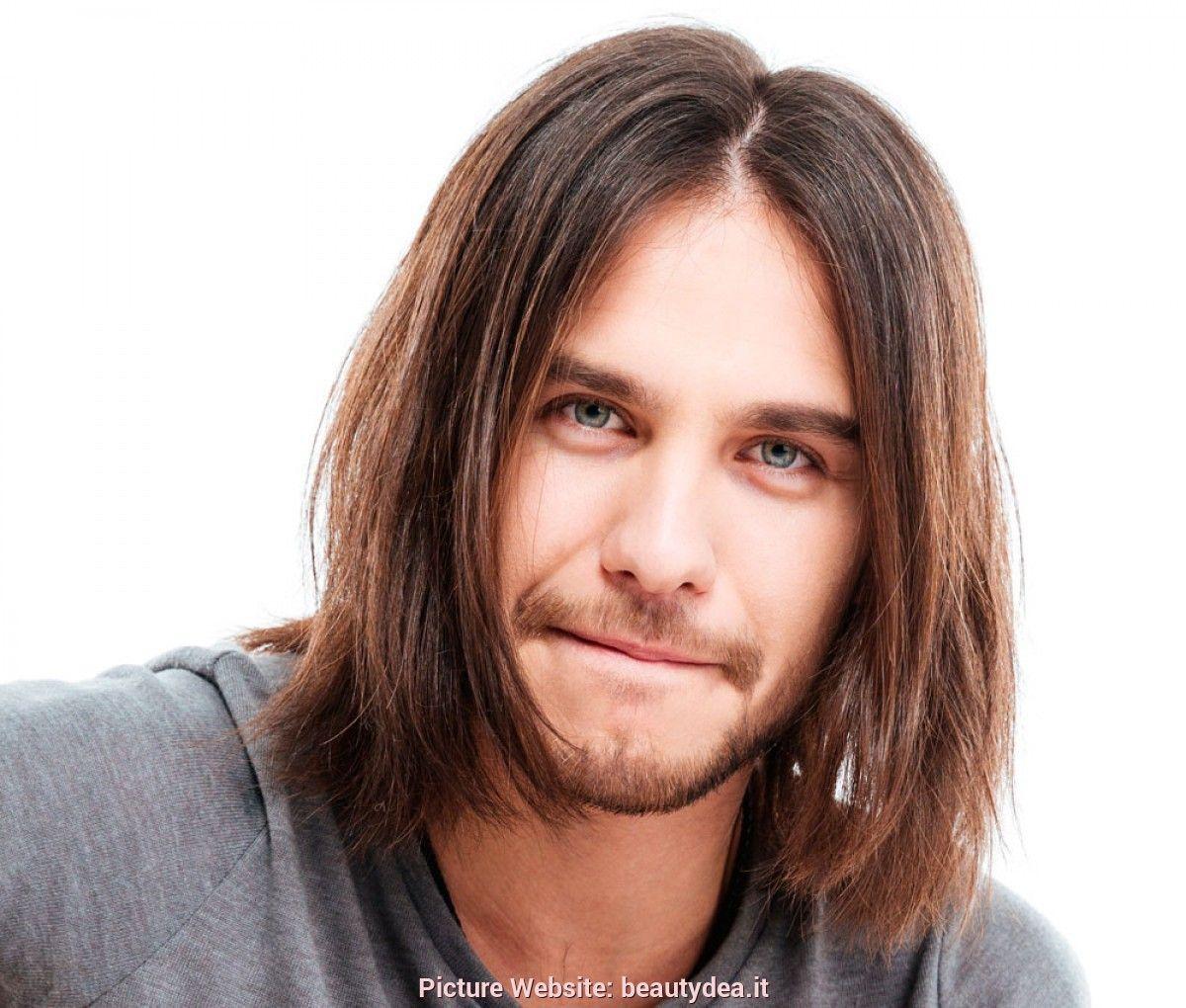 Schöner langer Haar-Mann - Frisuren Neue  Haare männer, Lange