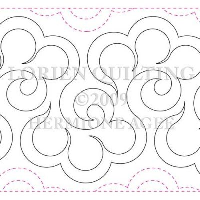 Mesmerizing image for free printable pantograph quilting patterns