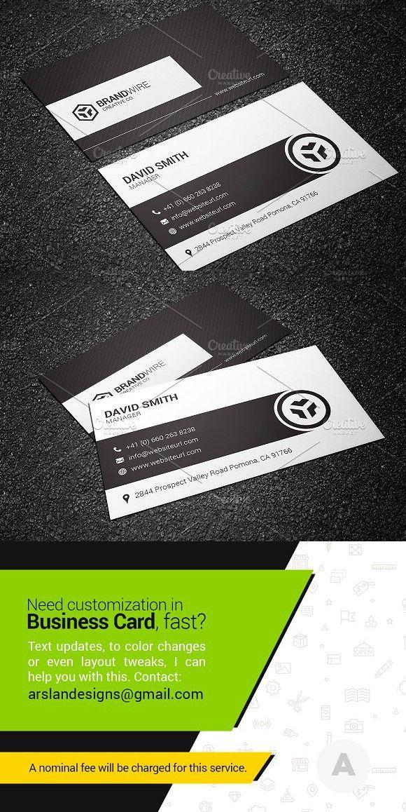 Carte De Visite Paper Patterns Simple Black Amp White Business Card Creative Templates Corporate