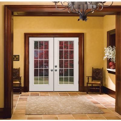 Stain Grade Trim Around White French Doors Google Search