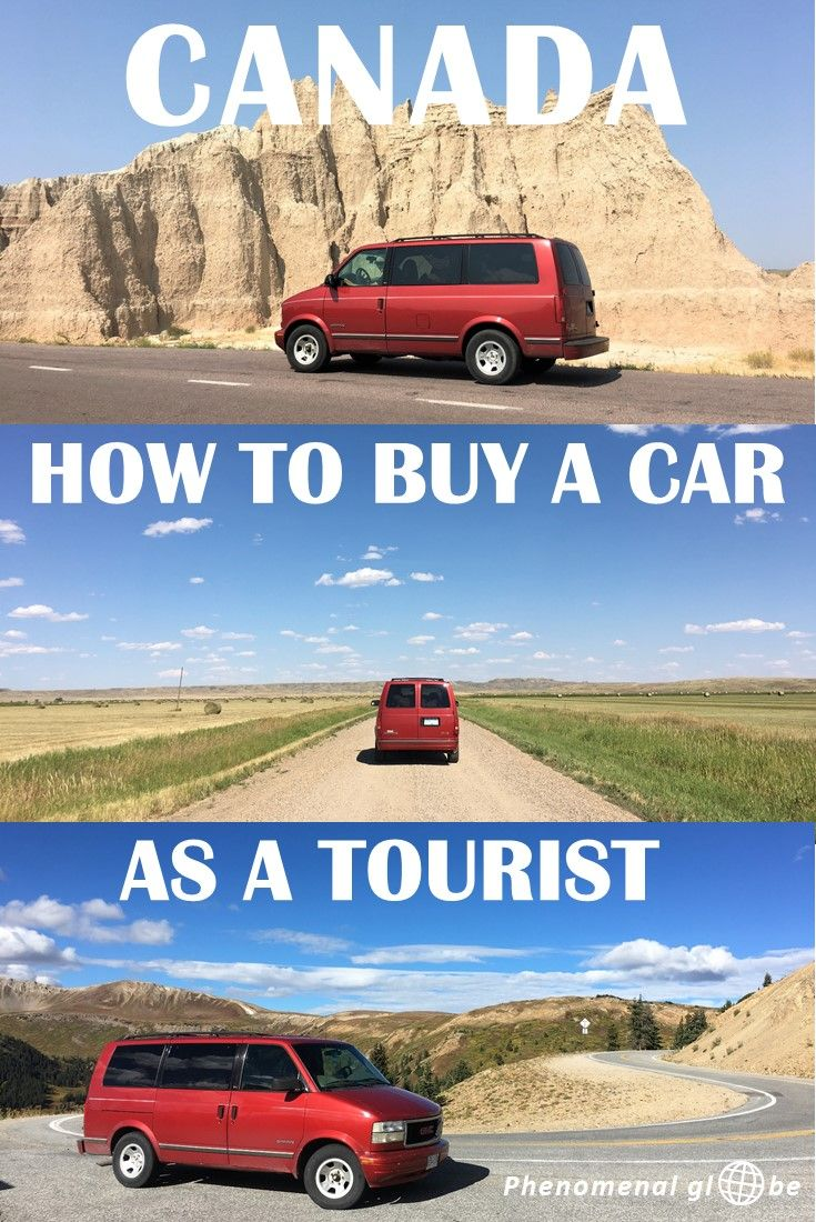 How To Buy A Car Or Camper Van In Canada As A Tourist Vehicle - Buy car in canada