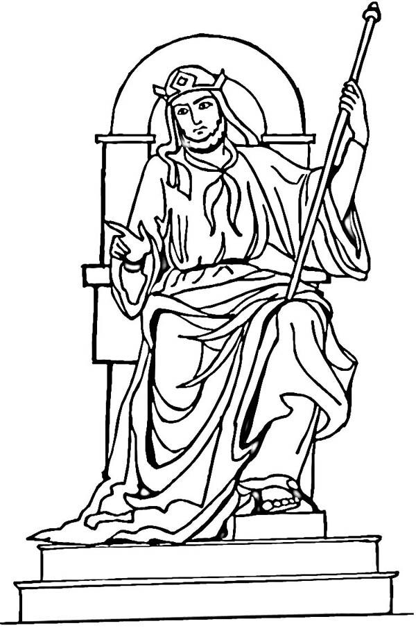 King Solomon Throne Coloring Page Netart Coloring Pages King Solomon Scripture Coloring