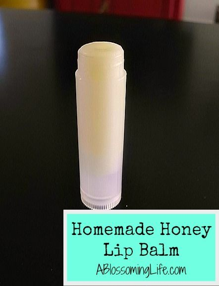 Homemade Honey Lip Balm Recipe!