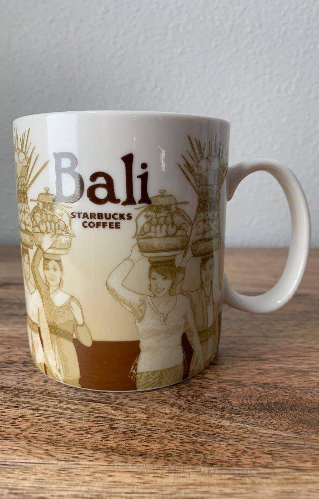 2012 Starbucks Coffee Cup Bali Indonesia Global Icon
