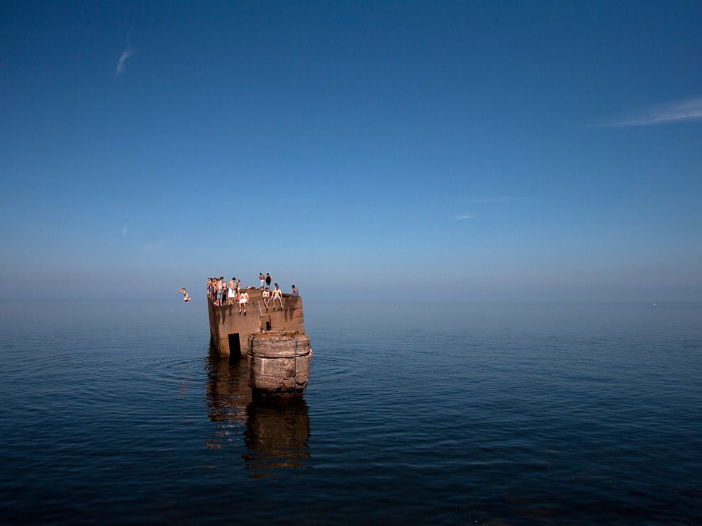 Swimmers, Lake Superior, Minnesota.    I like staring at this one...