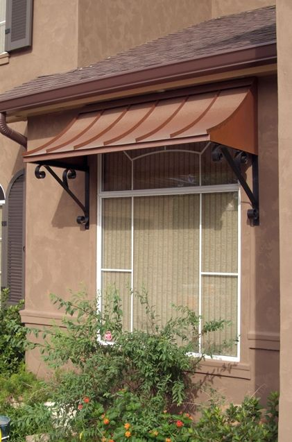 Would Love This Copper Awning Above My Kitchen Window