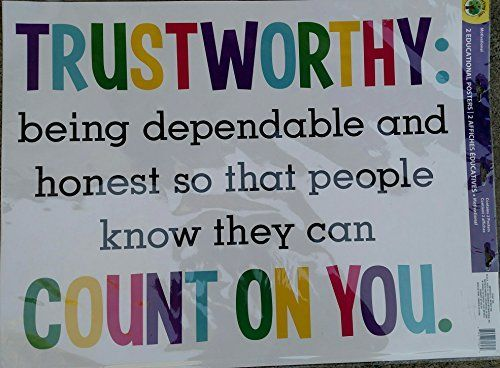 Image result for trustworthiness poster