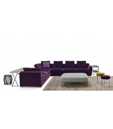 Copridivano Ad Angolo Con Pouf.Pouf Febo Maxalto Buy At Italian Design Outlet 1220 60 Home