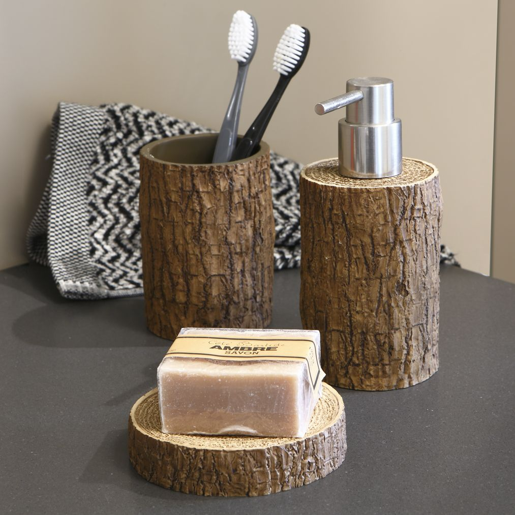 Accessoires Salle de bain #zodio #salledebain #tendance #wood | La ...