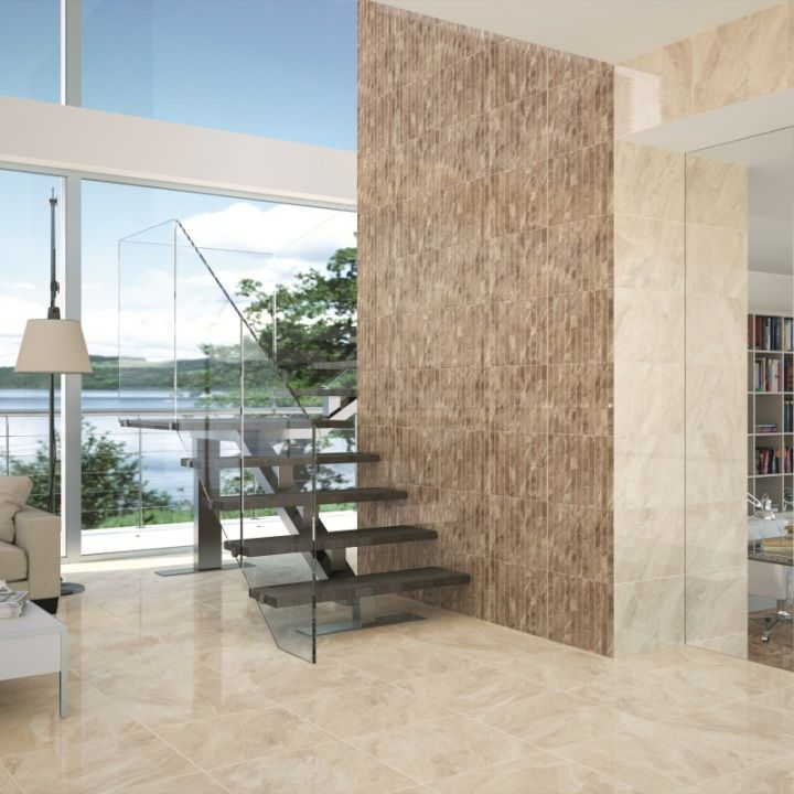 Nairobi cream floor tiles are beautiful high gloss floor tiles ...