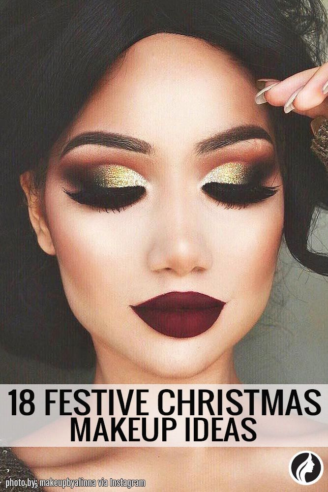 christmas makeup should match the most amazing time of year check our list to inspire yourself