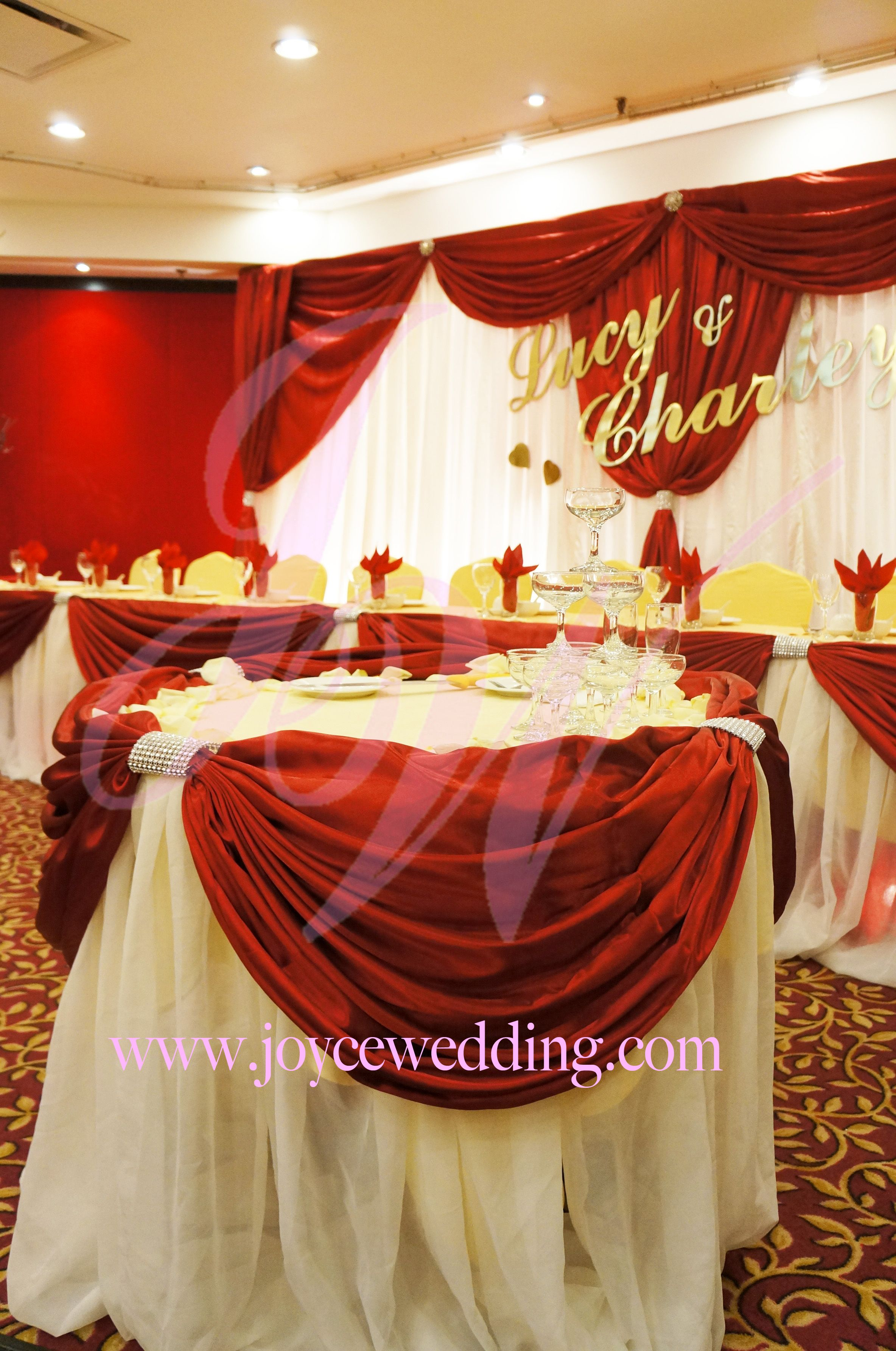 #Red and #Gold #Wedding #Reception #Decoration Red wedding Gold wedding decorations Gold