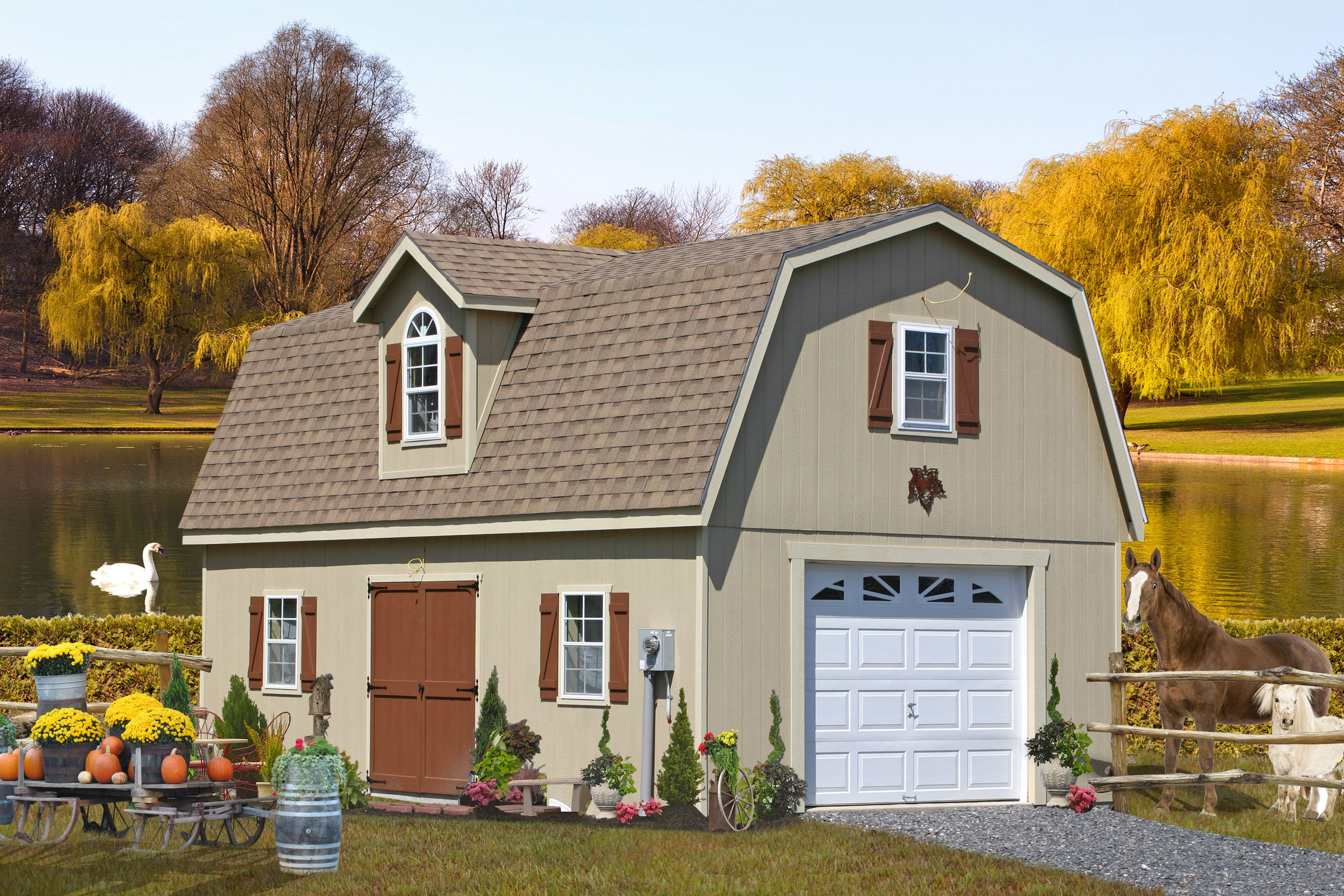 One Car Garages | Single Car Garages from PA | Garage