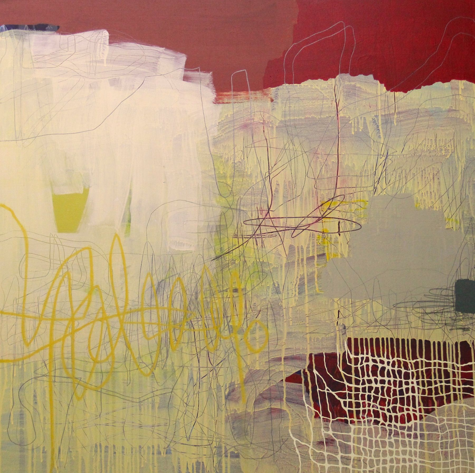 Available**** Spring 48 x 48 Mixed Media on Canvas 2015 | Court ...