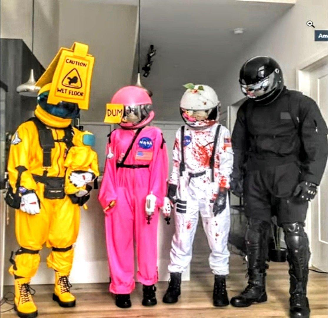Among Us Halloween Costume Halloween Costumes Friends Funny Group Halloween Costumes Cute Group Halloween Costumes