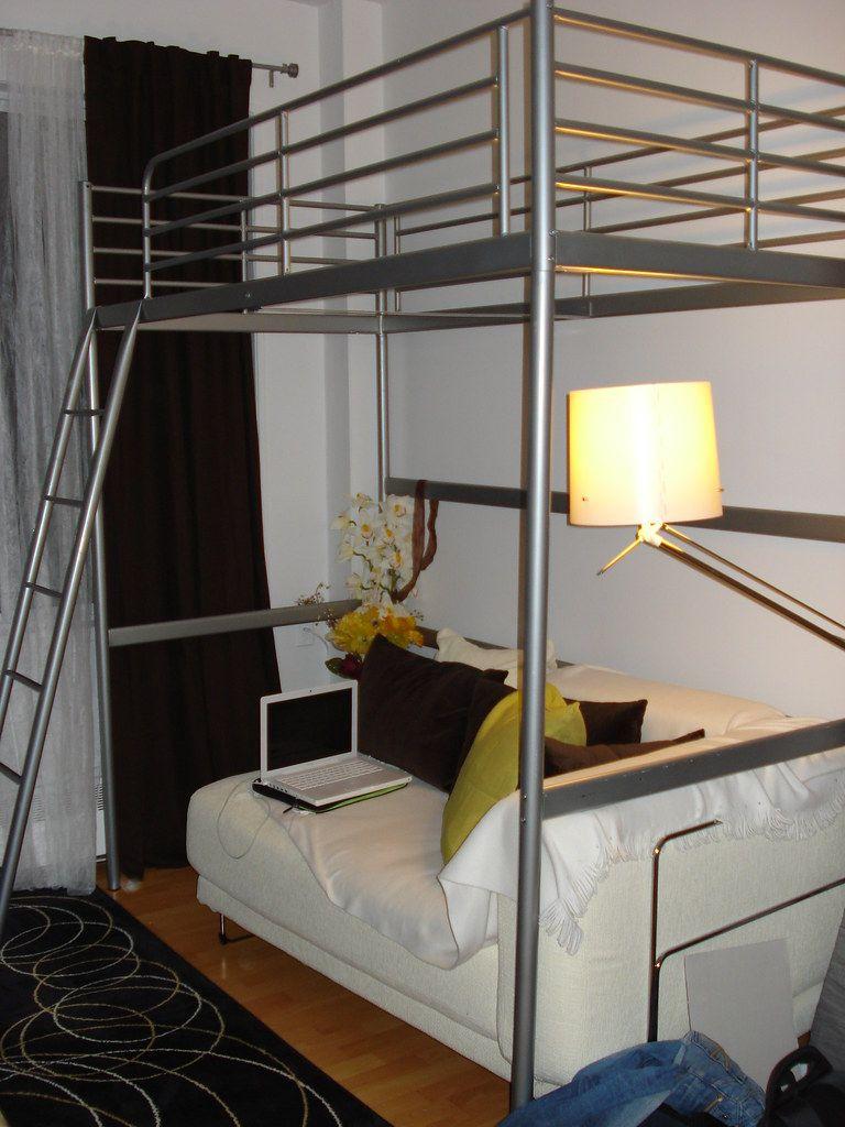 Ikea Tromso Loft Bed Frame 125 Ikea Loft Bed Loft Bed Frame