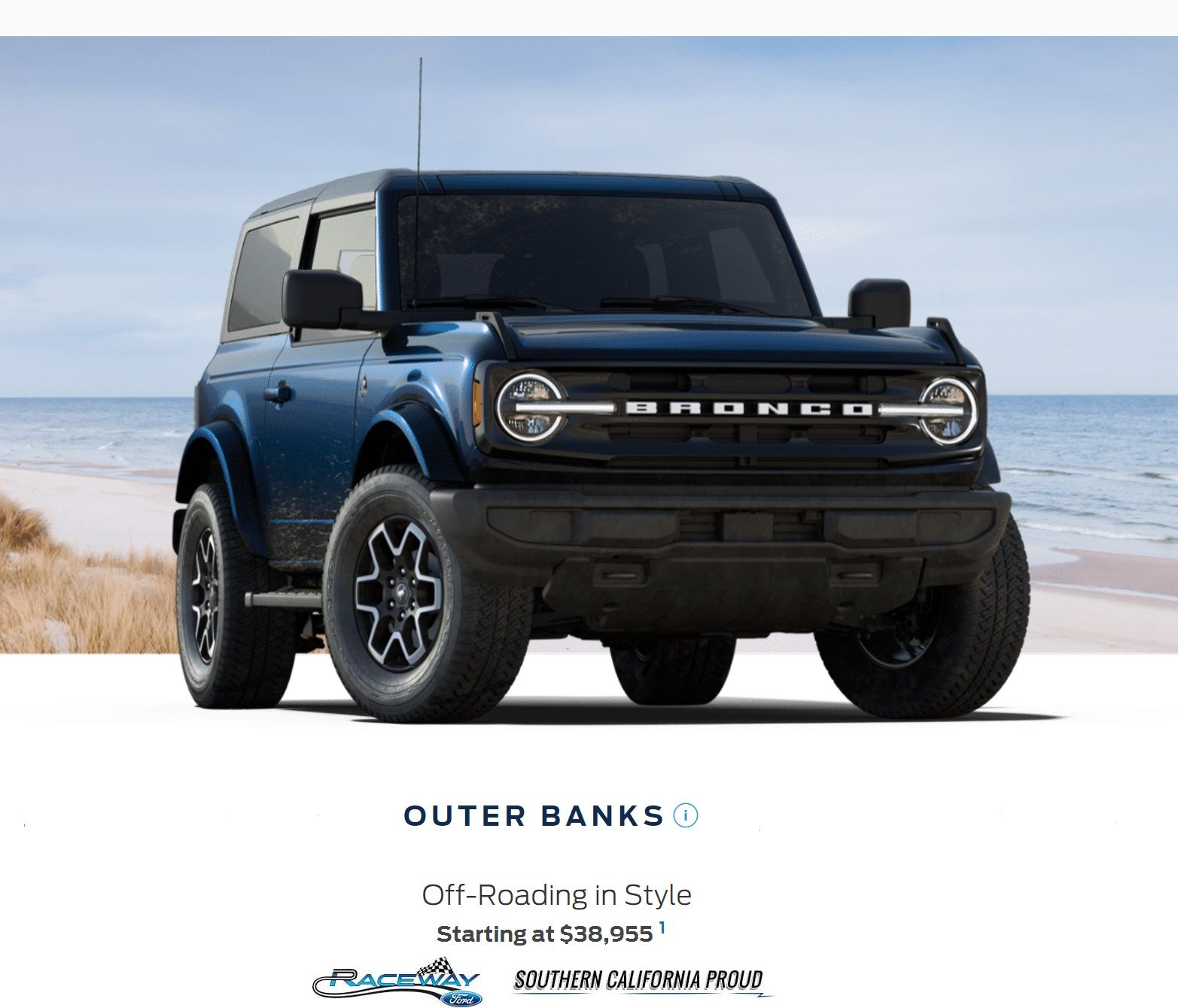 2021 Ford Bronco Outer Banks 2dr in 2020 Ford bronco
