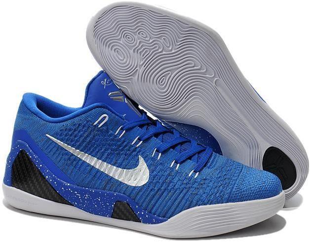 Nike Kobe 9 Elite Low Custom Blue White