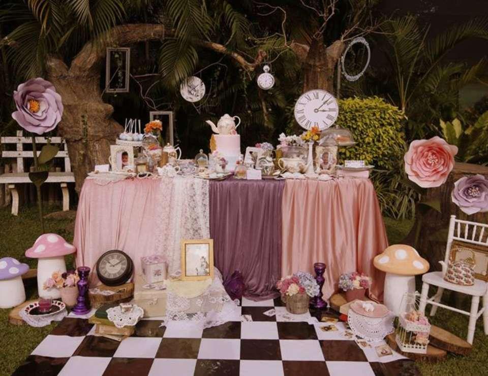 Vintage Alice In Wonderland Birthday Sidhdhani S Very 1st