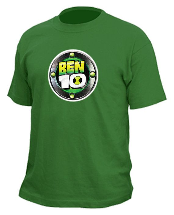 Ben 10 Tshirt By RadicalProductions On Etsy 2500 Birthday 4th Parties