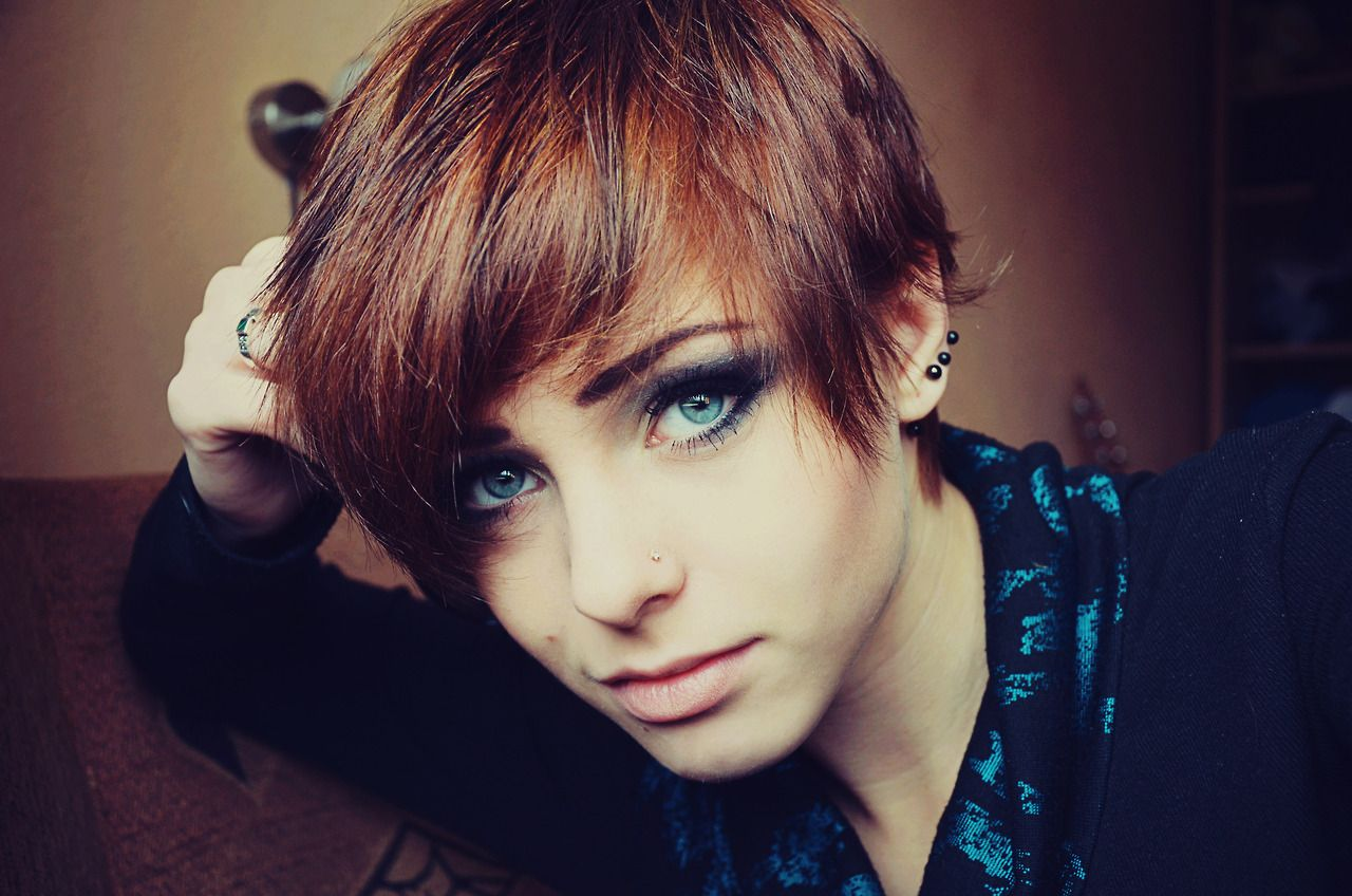 Getinthechair tumblr hair styles pinterest short hair funky