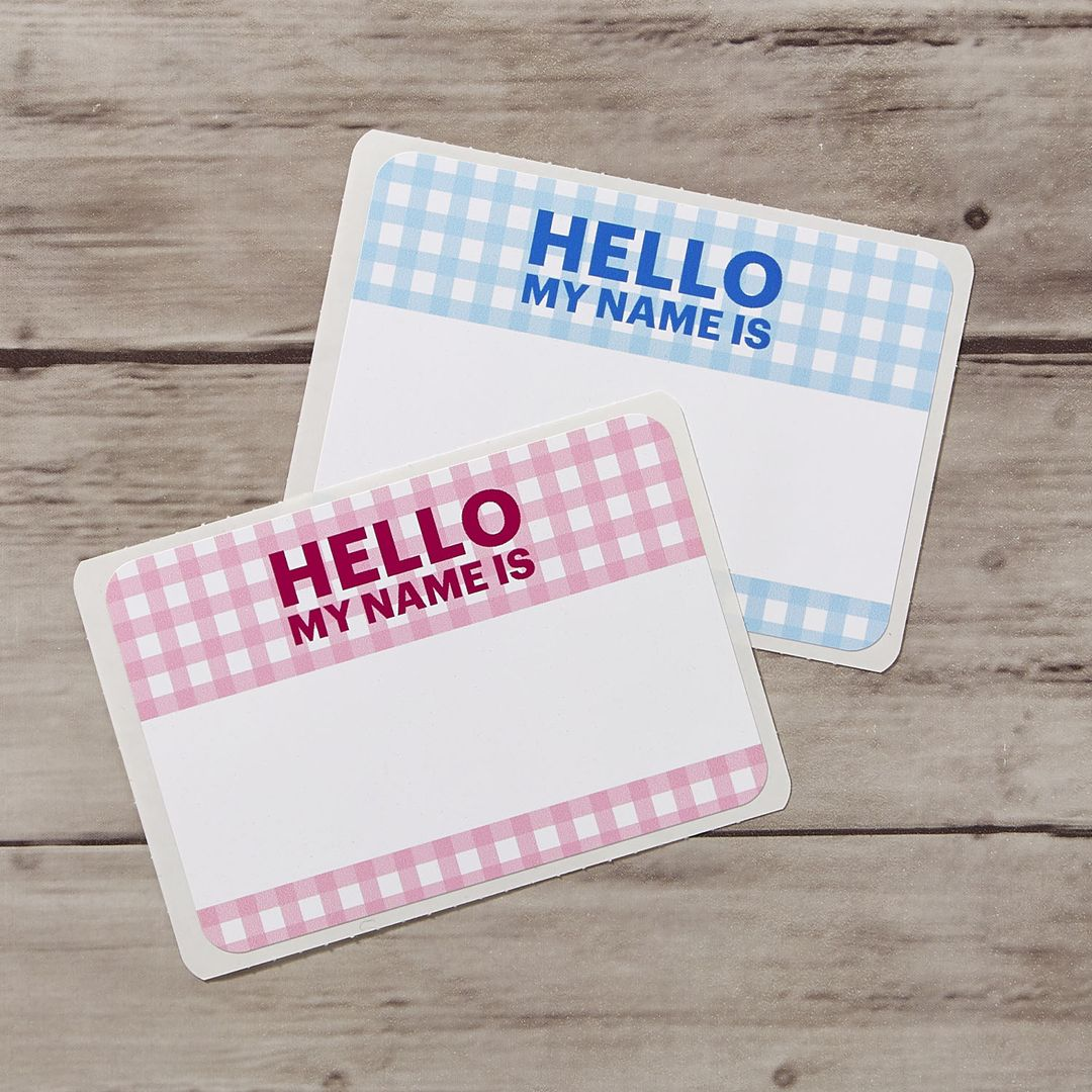Hello Name Tag Template Name Tag Templates Diy Wedding Name Tags Wedding Name Tags