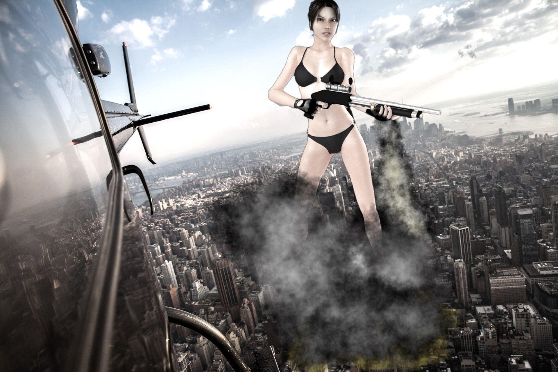 Lara giantess Giantess Studios101