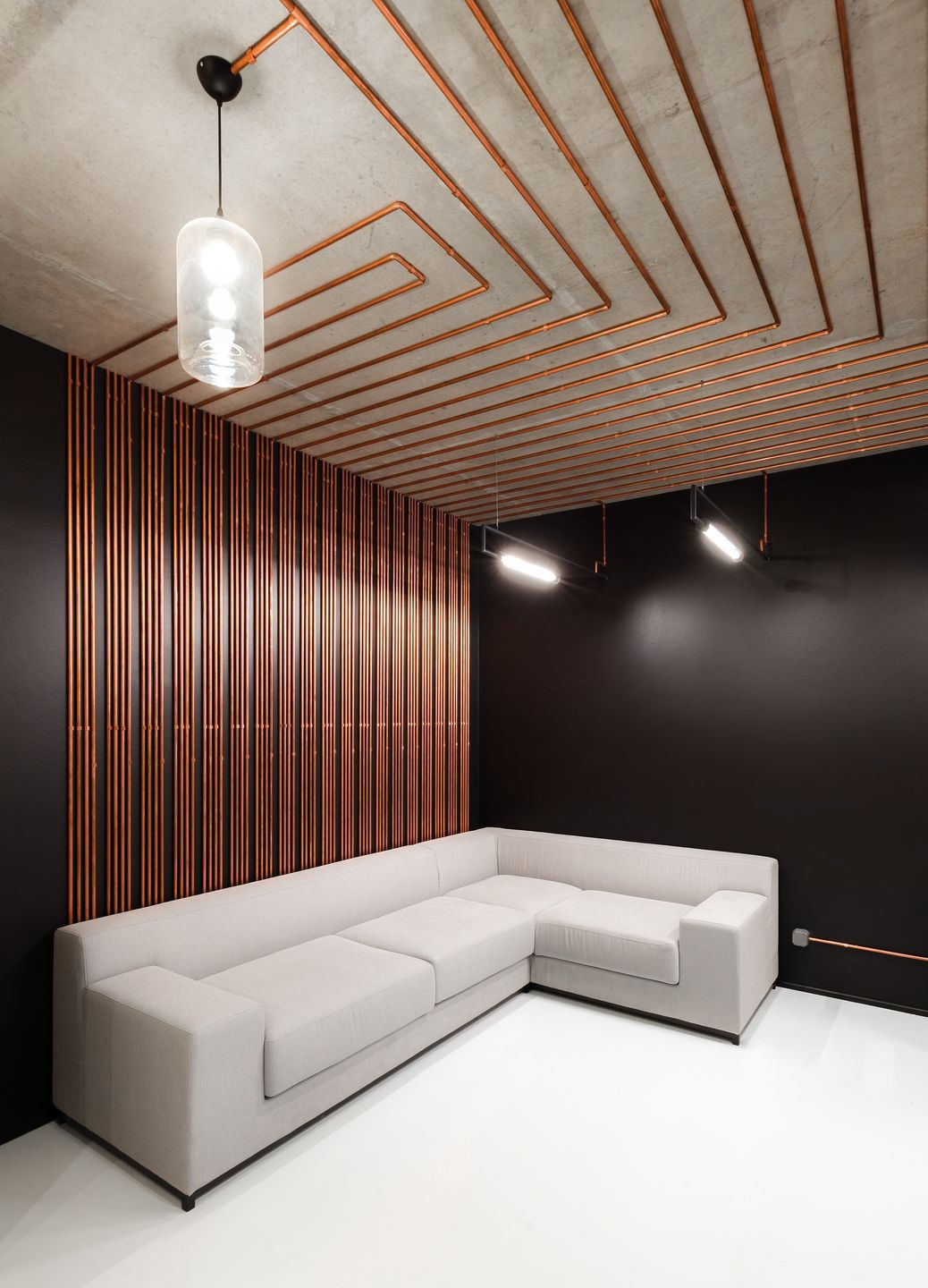 Copper Interior Design G H Q Moviemakers Office On Behance Decor Interior