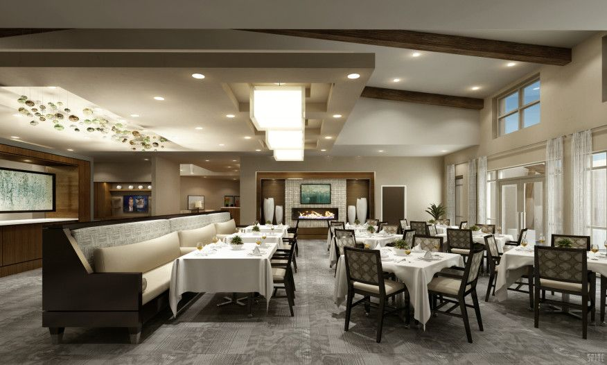 assisted living dining | senior living design | pinterest