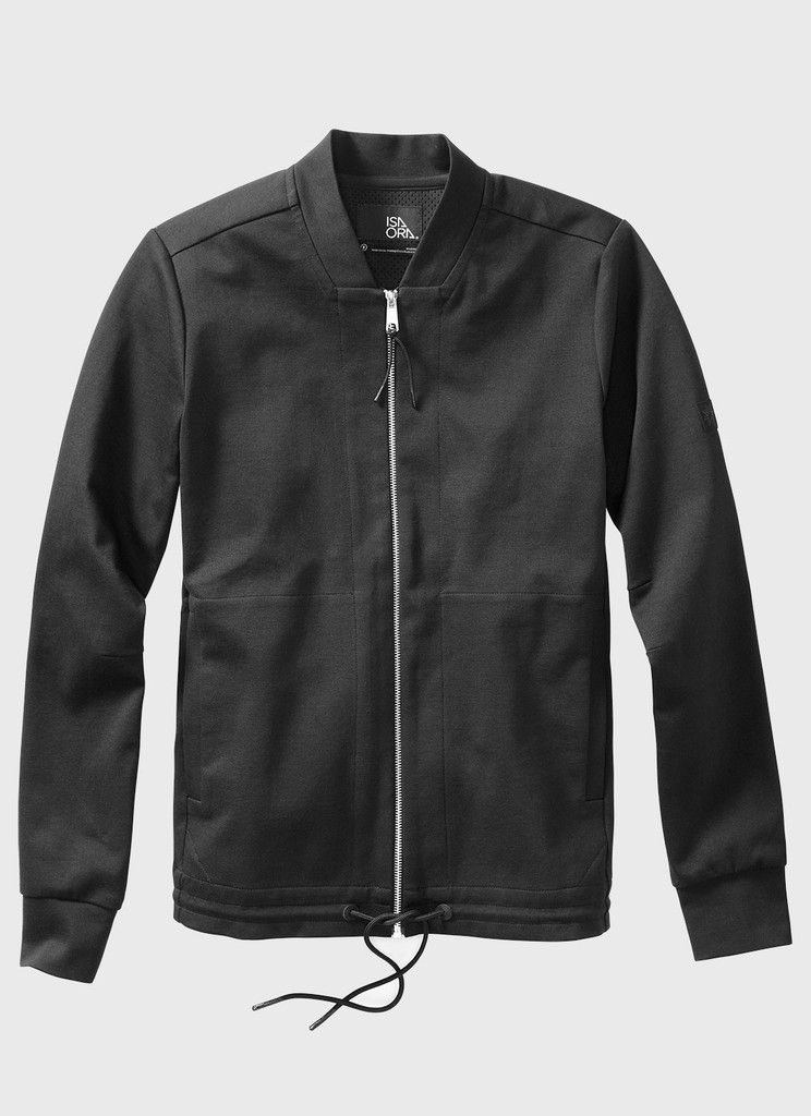 Straight ShapeDesigned with a slightly longer fit, the knit bomber sports a heavy-gauge metal zipper and a clean, straight shape. You've got two main pockets for your two main hands. The silicon-dipped draw cord at the hem makes it easier to keep those drafts at bay. Please Note: This item is on sale