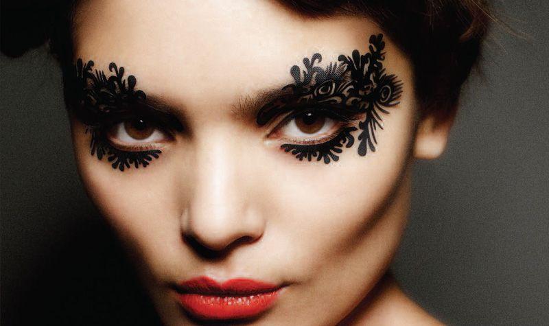 face-lace,mascherine tatoo