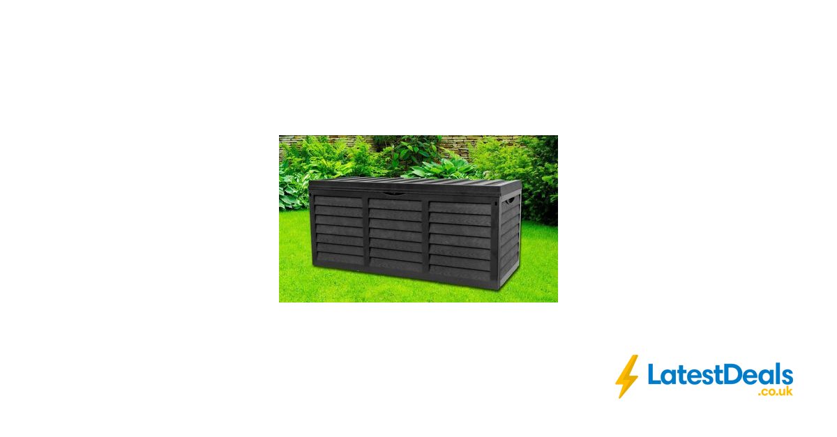 *SAVE £64* Garden Storage Box with Lid, £35.99 at Groupon