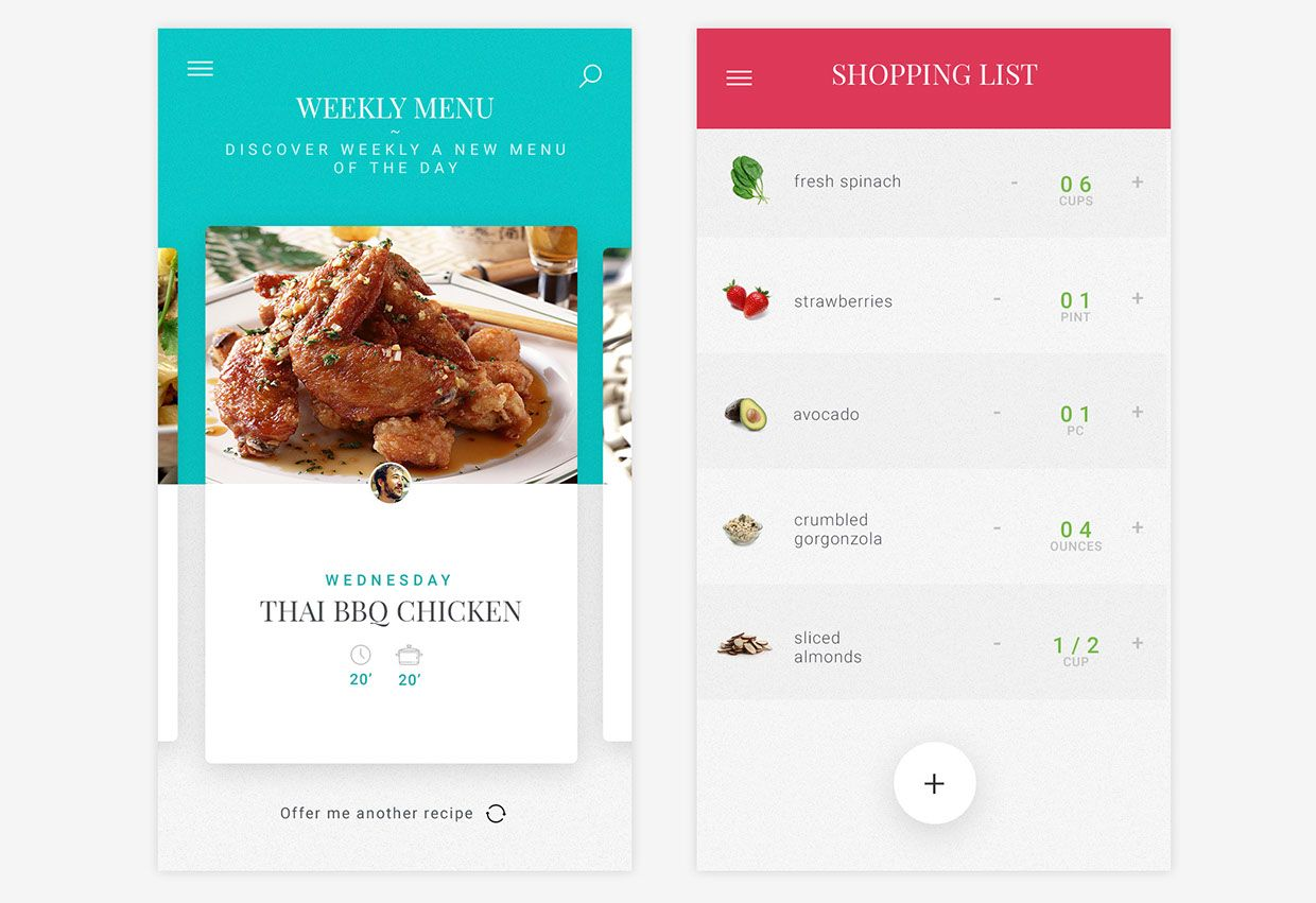 Free cooking recipe app template on behance uiux pinterest free cooking recipe app template on behance forumfinder Gallery