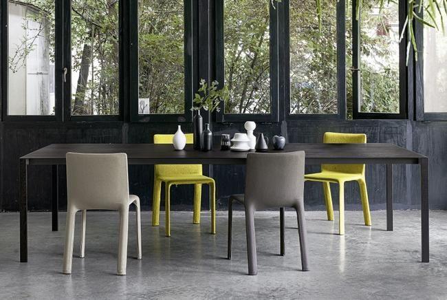 Tische und Stühle: Esstisch Thin-k Longo, Stuhl Joko | Esszimmer ...