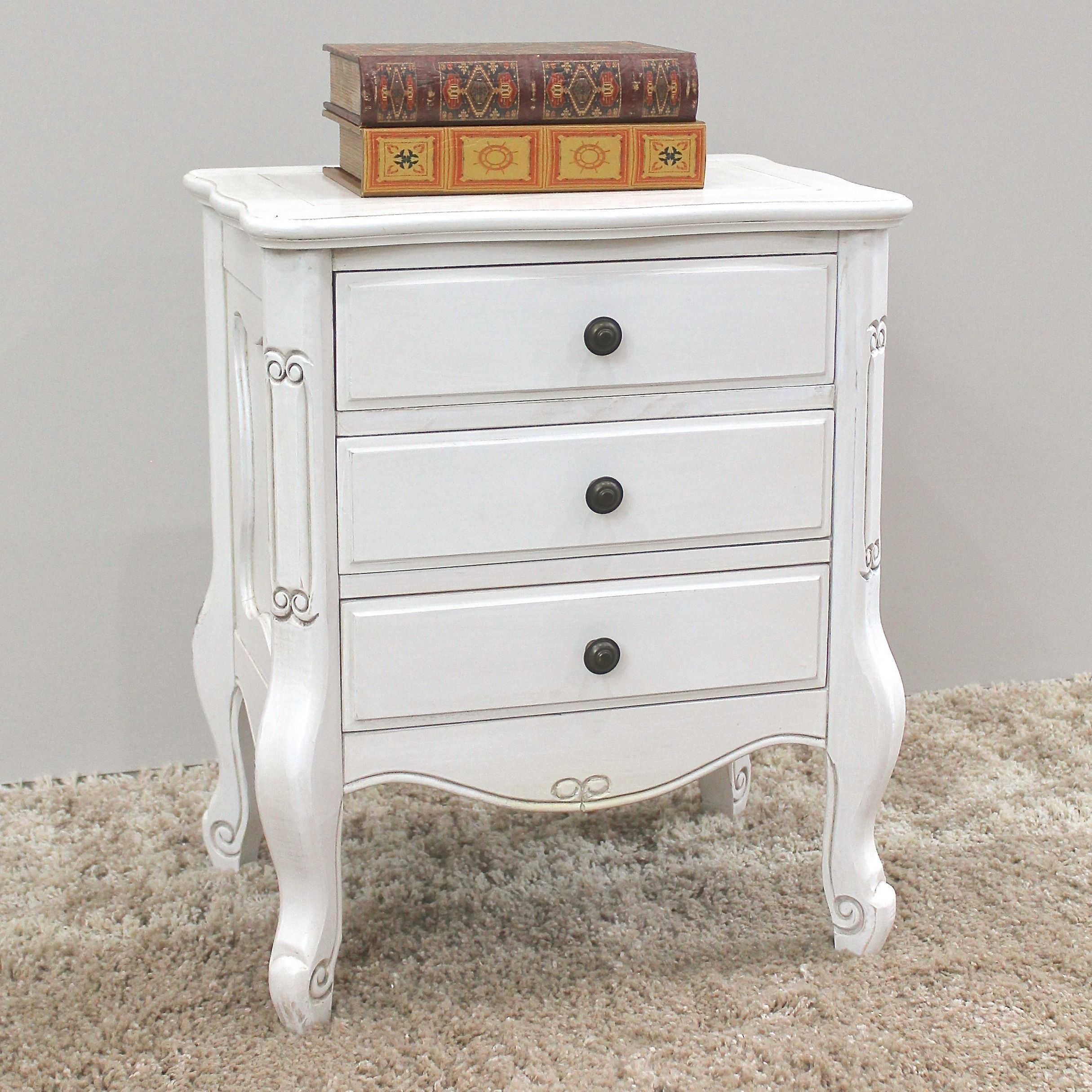 Add A Touch Of Class To Your Bedroom With This Beautifully Styled Bedside  Table. Designed