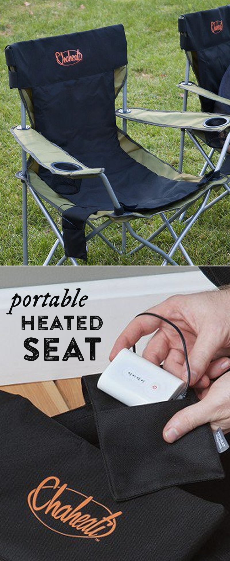 The Chaheati Heated Seat Pad Makes Any Seat A Heated One