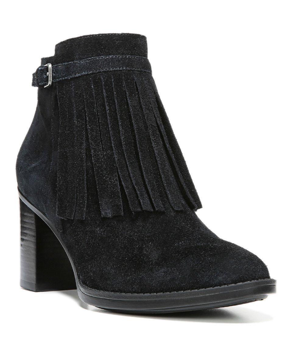 Black · This Black Fortunate Suede Bootie by Naturalizer ...