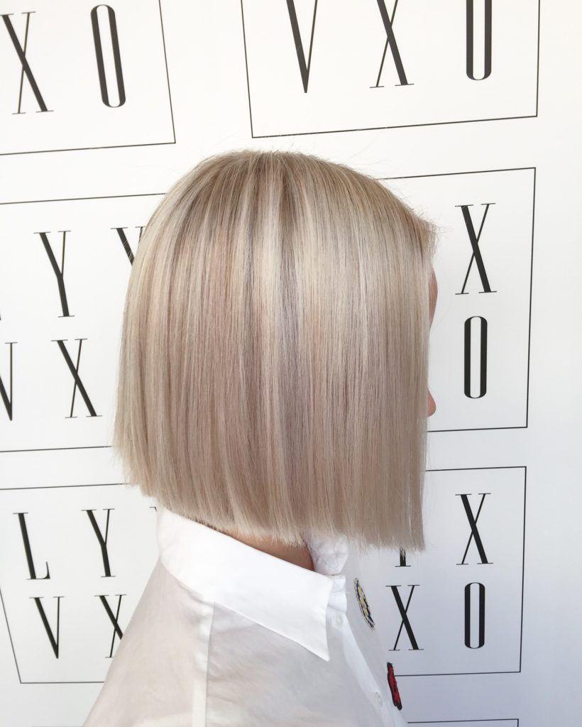 olika nyanser av blond
