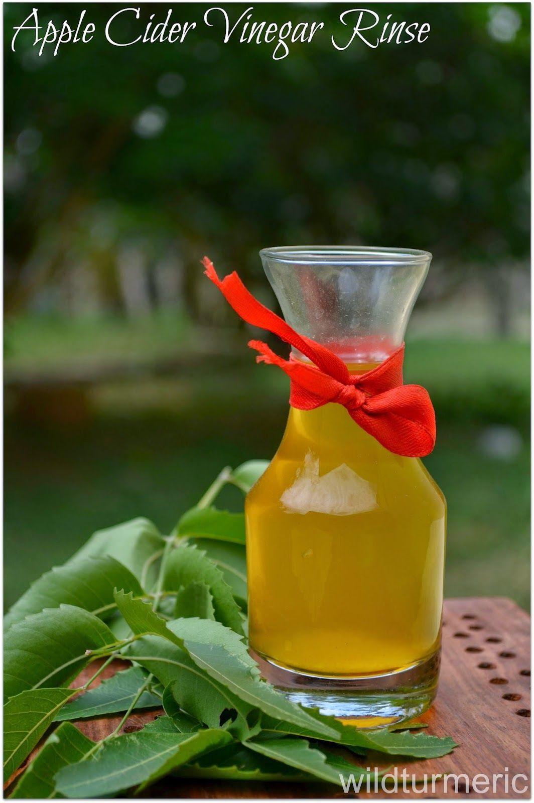 3 Natural Apple Cider Vinegar Hair Rinse Recipes For Hair