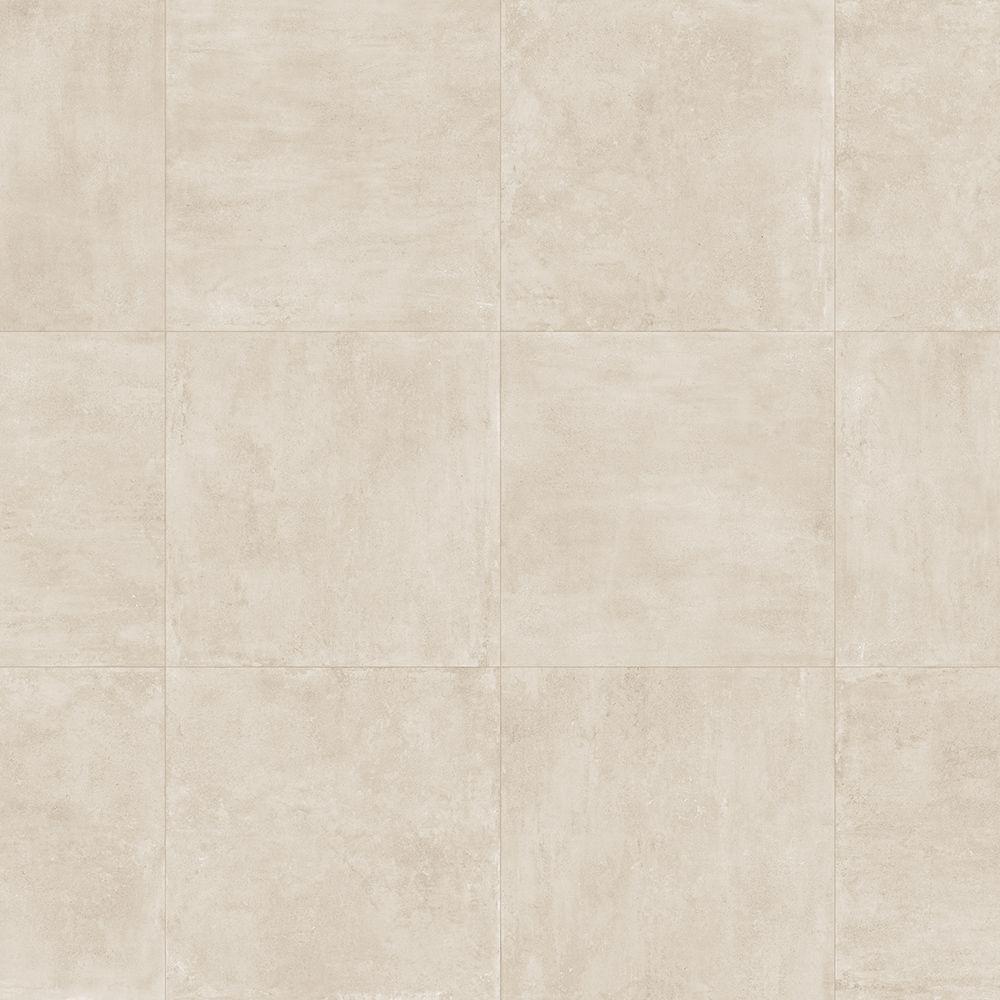 Carrelage Sol Effet Beton 60x60 Ivory Fusion Naturel Rectifie