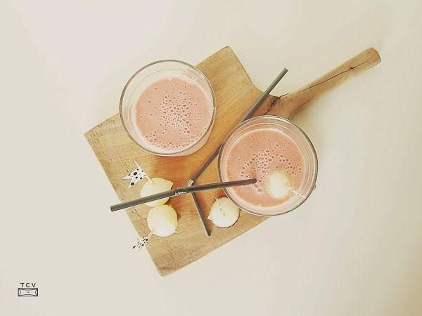 Sano y, sobre todo, muy muy bueno: smoothie de melón y fresas
