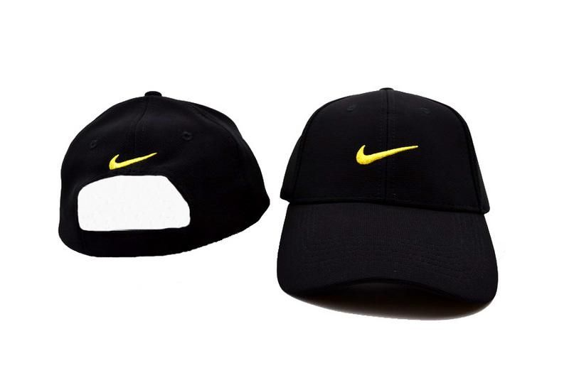 Mens / Womens Nike Basic Stock Logo Dry Fit Sports Retro Baseball Golf  Veclro Strap Adjustable