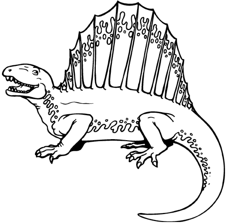 animal dinosaur coloring pages - photo#28