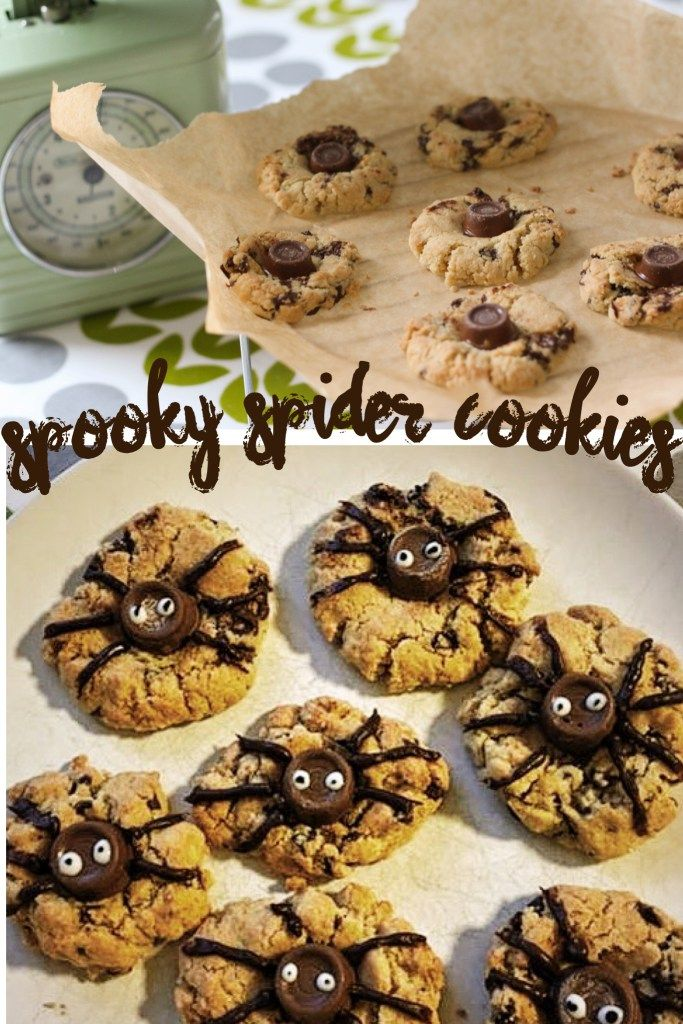 making spooky spider cookies halloween ideas for cake sales pta cake