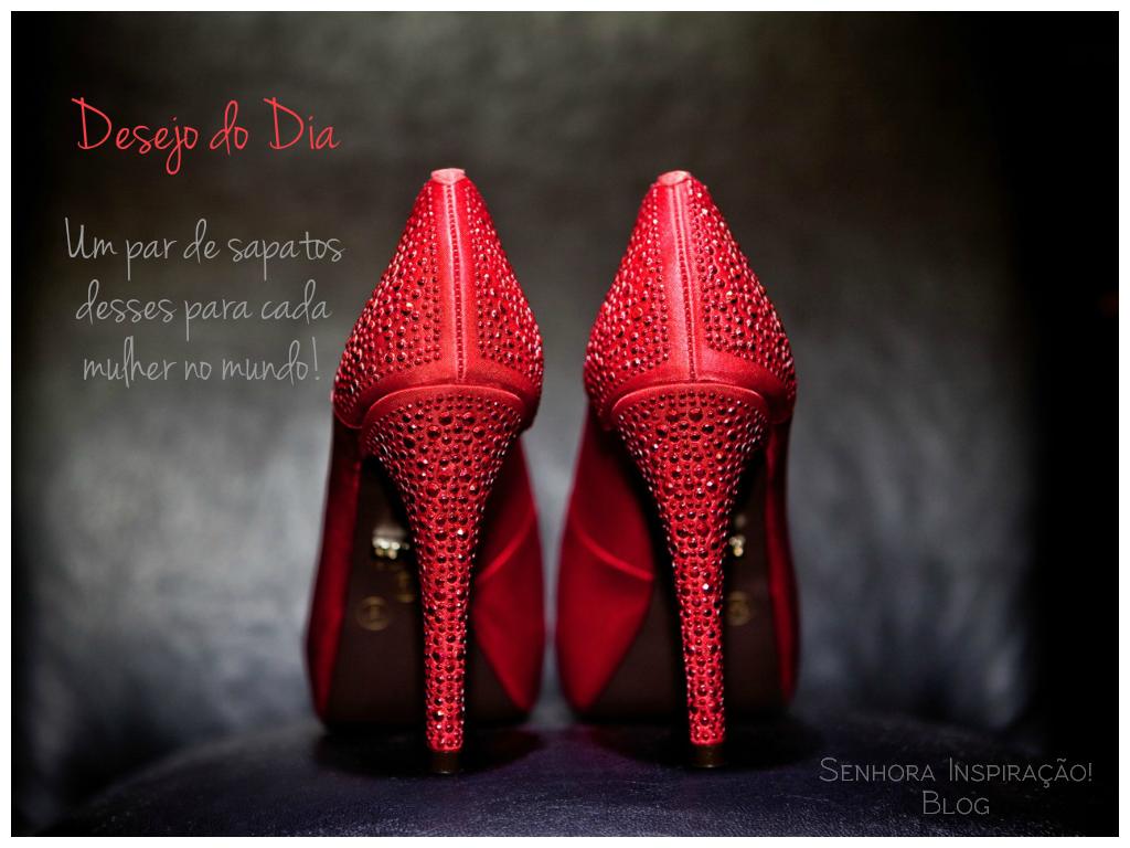 Desejo do Dia: Um sapato desses para cada mulher no mundo! | Senhora Inspiração! Blog
